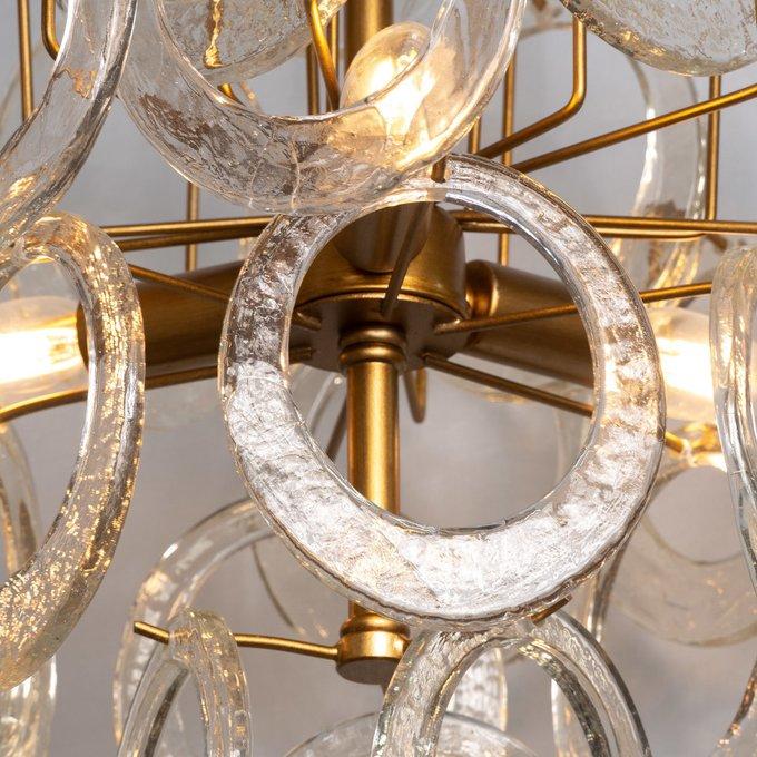 Подвесная люстра Normana Chandelier со стеклянными подвесками