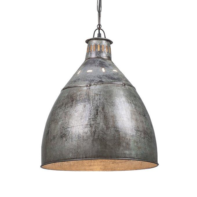 Светильник подвесной из состаренного металла