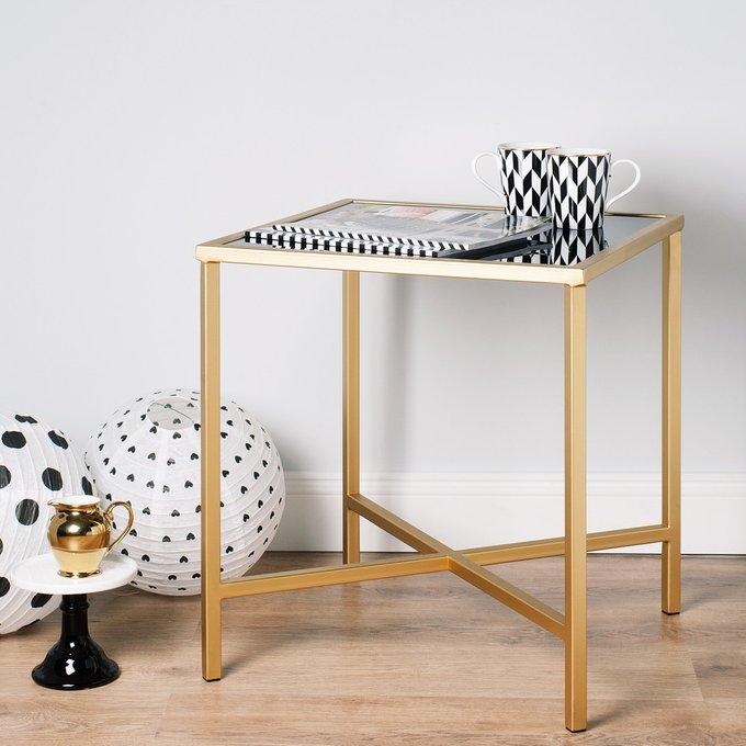 Кофейный столик КоКо со столешницей из стекла