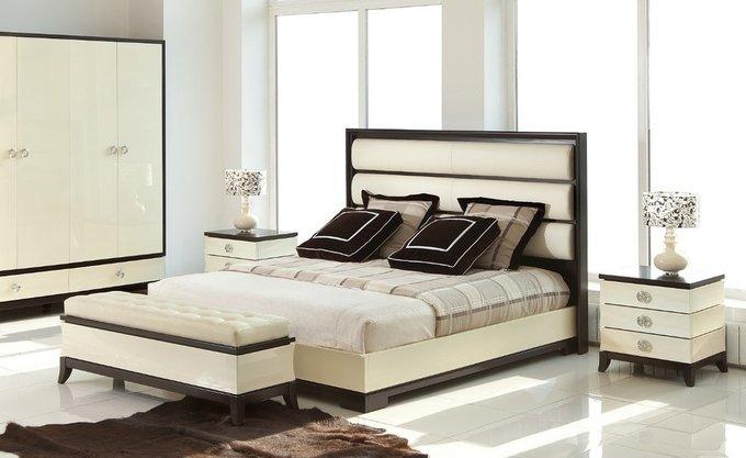 Кровать с решеткой Prato в стиле Ар-деко 180х200