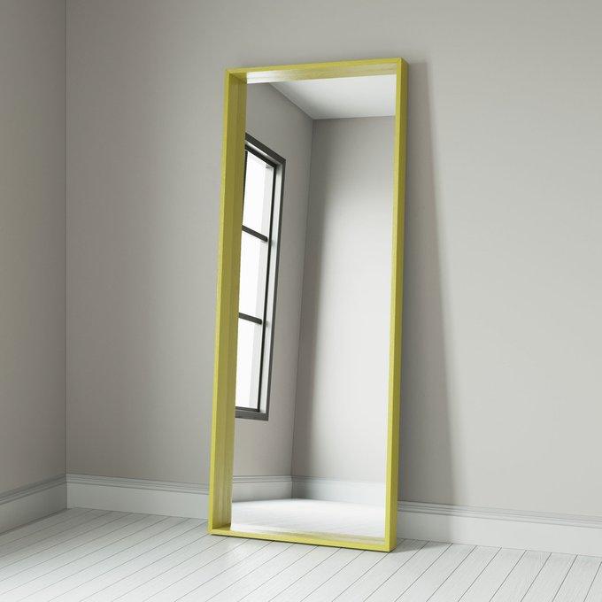 Зеркало Quadro в раме белого цвета