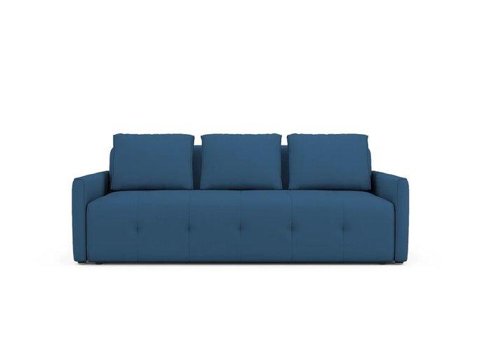Диван-кровать Bronks синего цвета
