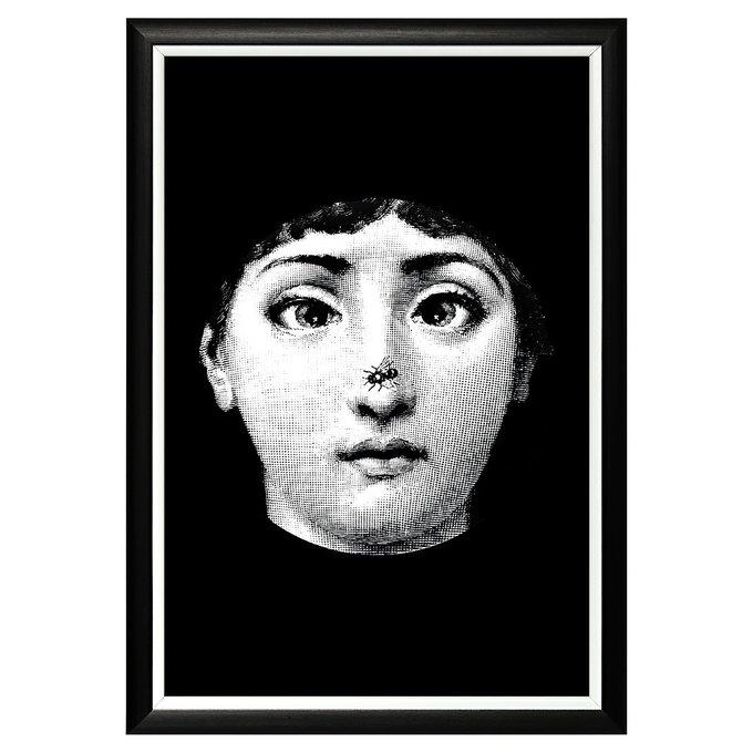 """Арт-постер """"Лина"""", версия  """"Гротеск"""" (Форназетти)"""