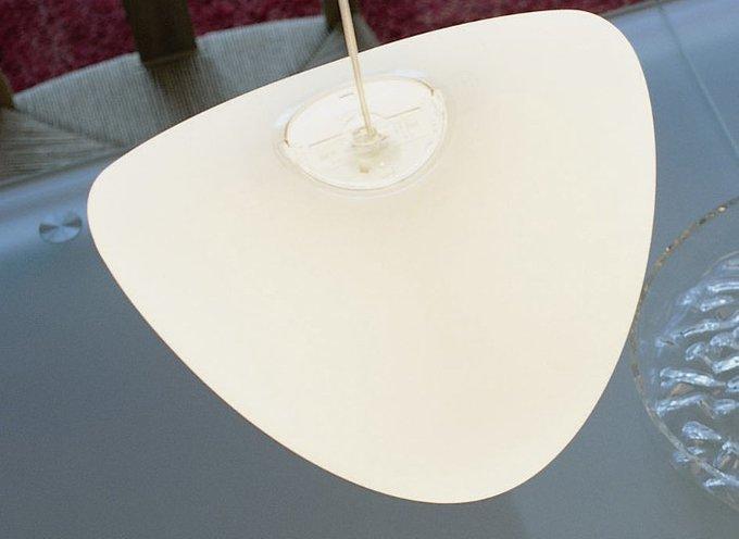 Подвесной светильник Rotaliana EYEBALL из литого поликарбоната прозрачного цвета