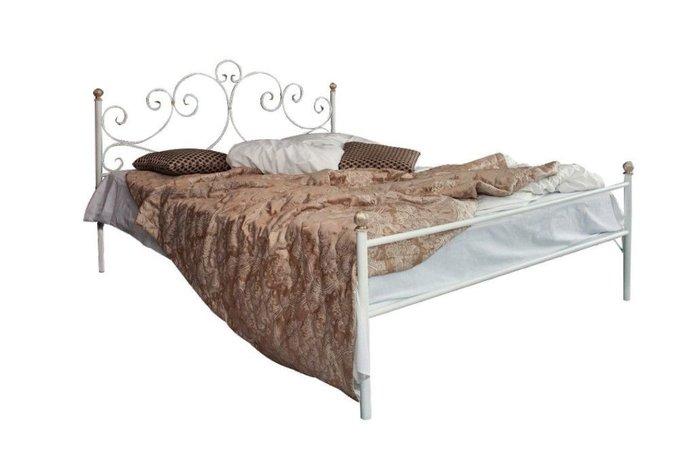 Кованая кровать Флоренция 1.4 с одной спинкой 140х200