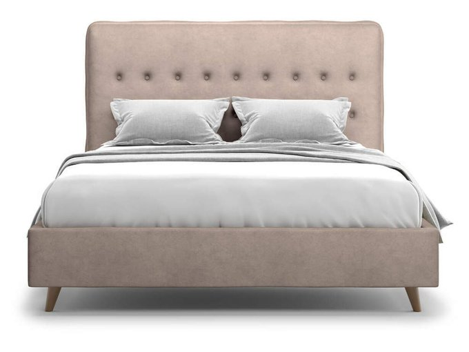 Кровать Bergamo 160х200 кофейного цвета