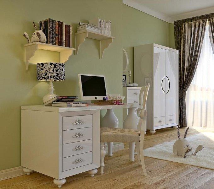 Письменный стол Palermo белого цвета