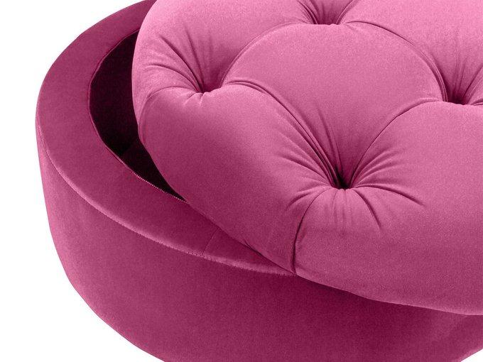 Пуф Meggi розового цвета