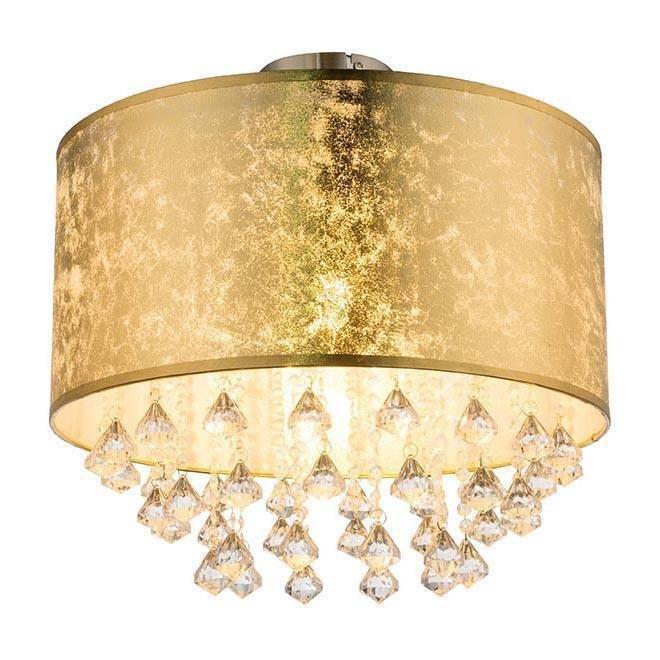 Потолочный светильник Amy золотого цвета