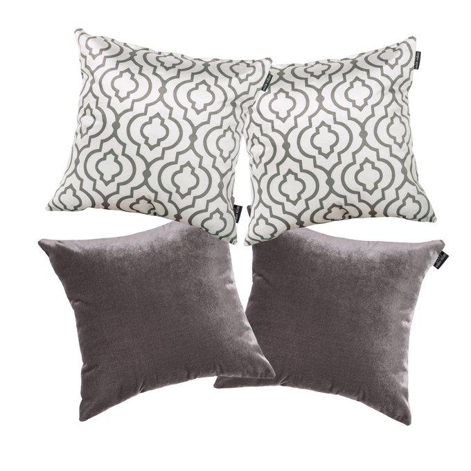 Комплект чехлов для подушек Lux Marrakech grey