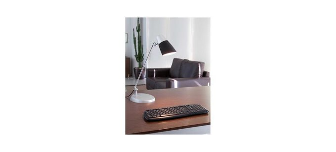 Настольная лампа Faro Leo из алюминия и пластика