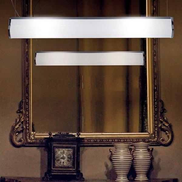 Подвесной светильник Vistosi LUXOR с плафоном из стекла
