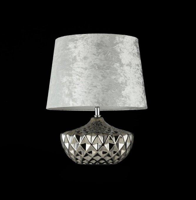 Настольная лампа Adeline с абажуром из бархата