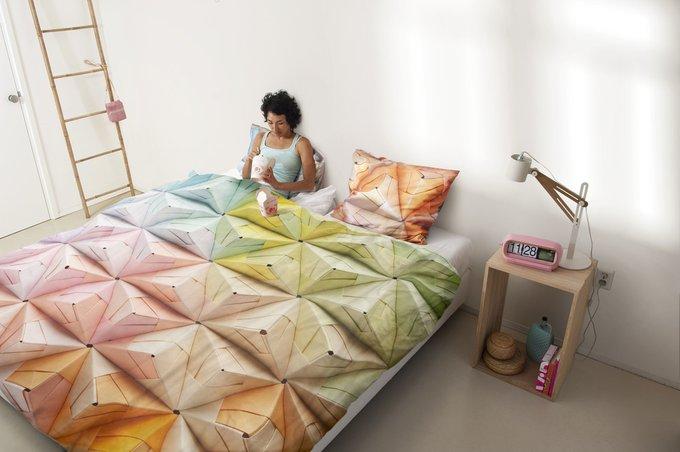 """Комплект постельного белья """"Оригами"""" 200х220"""