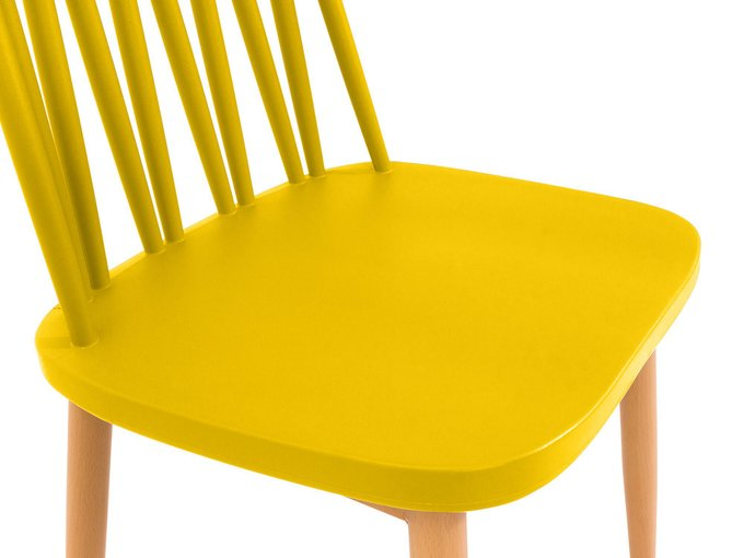 Стул Zig Zag желтого цвета