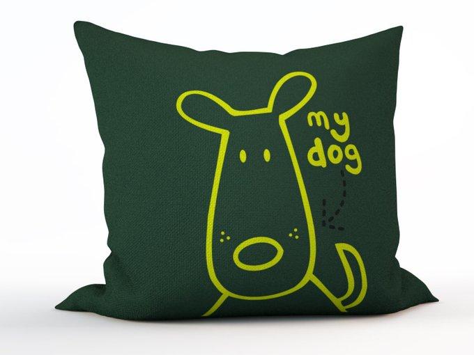 Детская подушка: Мой пес