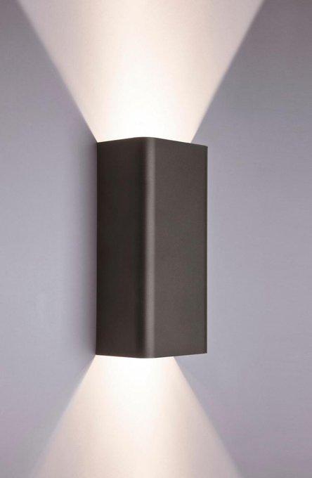 Настенный светильник Bergen серого цвета
