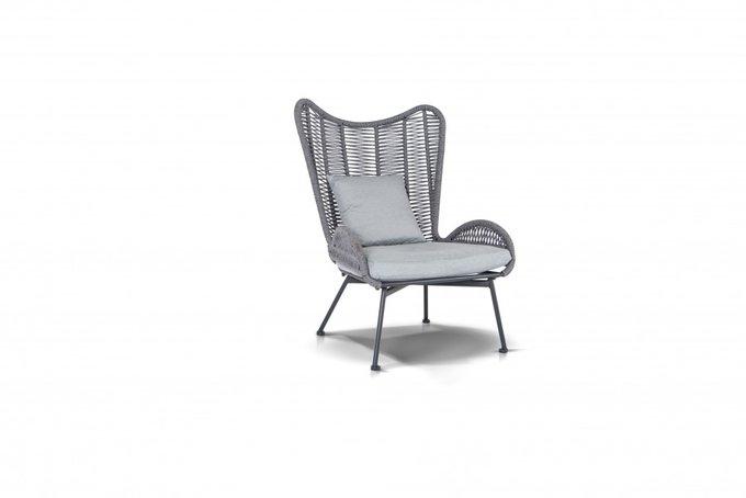 Кресло Мадрид темно-серого цвета
