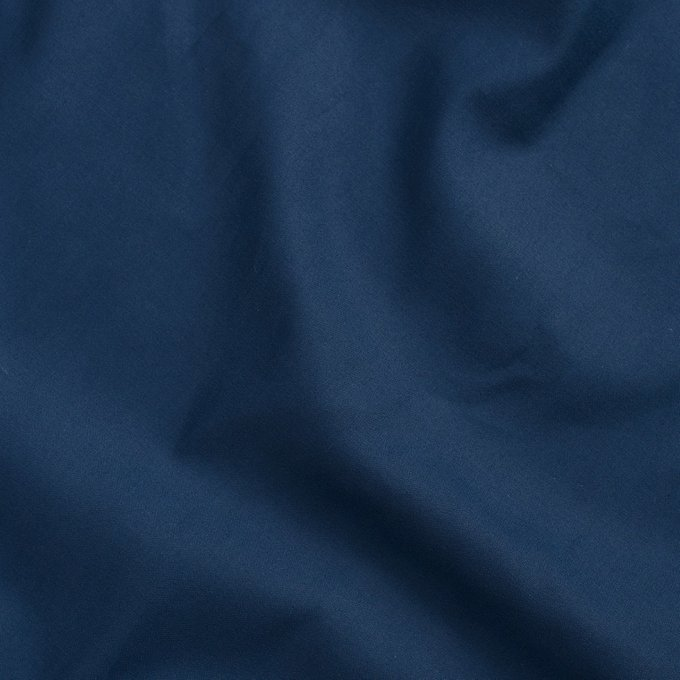 Простыня из сатина темно-синего цвета 180х270