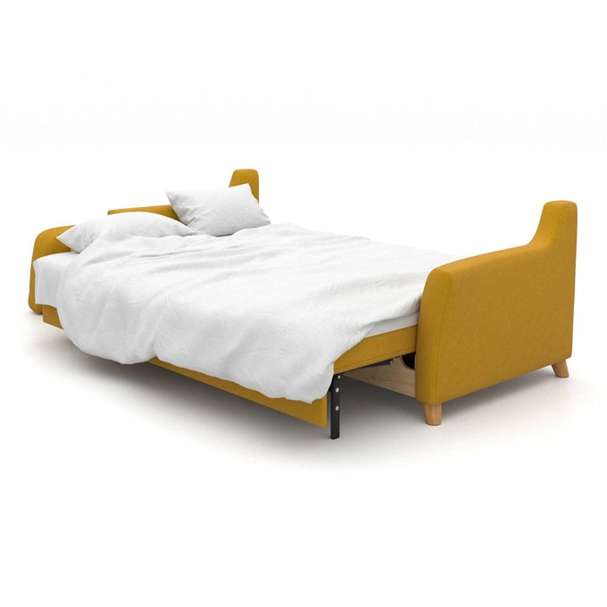 Диван-кровать Raf EKL трехместный желтый