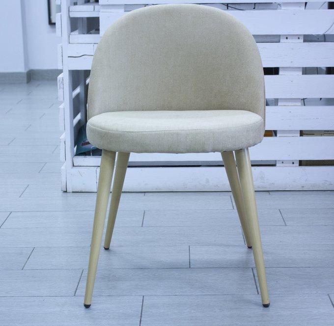 Набор из четырех бежевых стульев Томас с мягким сидением