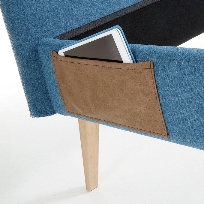 Кровать  Lydia синего цвета150х190