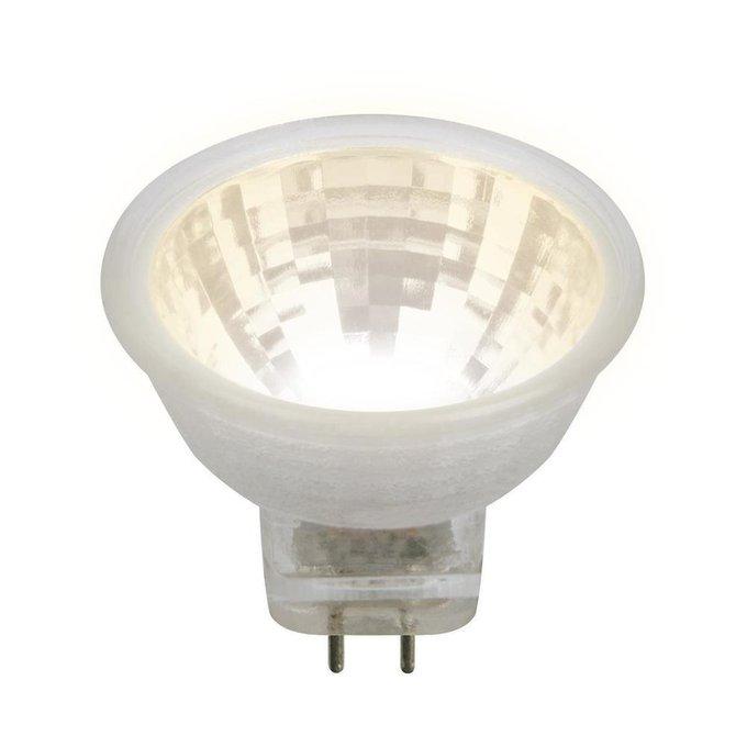 Лампа светодиодная Полусфера прозрачная стеклянная