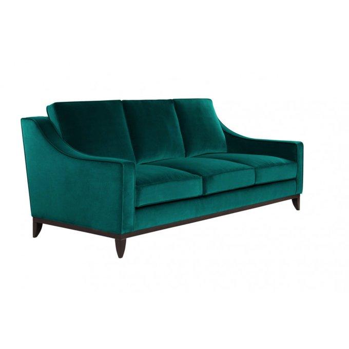 Диван-кровать Франциско S зеленого цвета