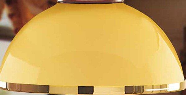 Подвесной светильник Moretti Luce FREEPORT с плафонами из стекла янтарного цвета