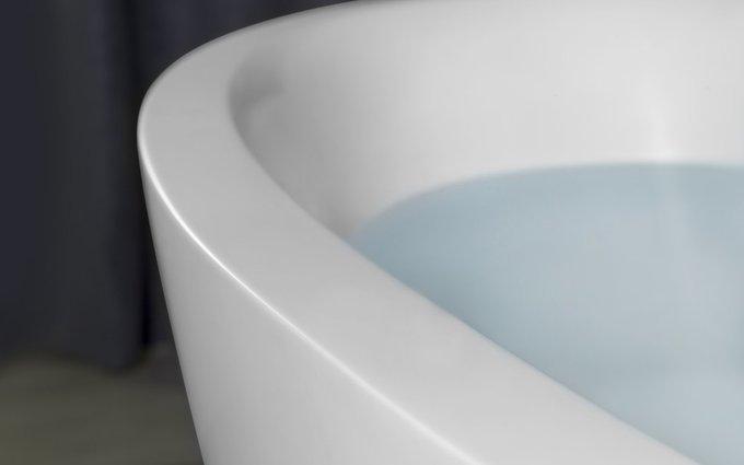 Каменная Ванна Sensuality Mini-F белая
