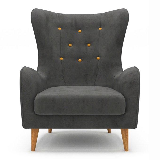 Кресло Montreal черного цвета