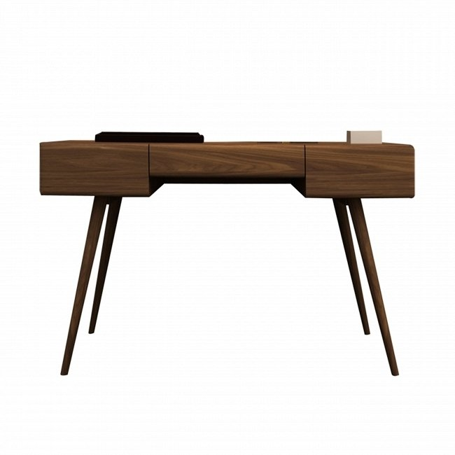 Стол письменный Bora коричневого цвета