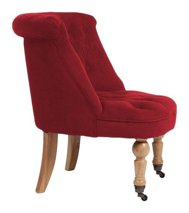 Кресло Amelie French Country Chair Красного цвета