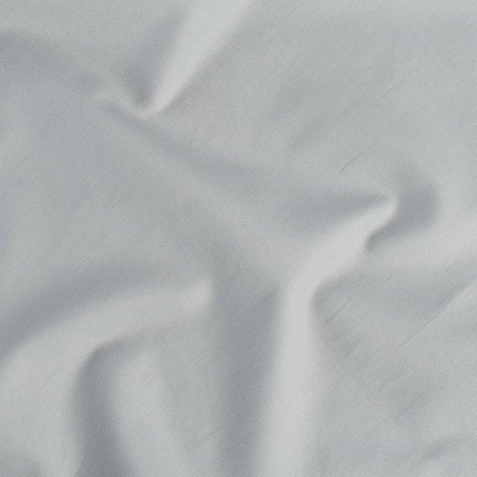 Простыня из сатина светло-серого цвета 240х270