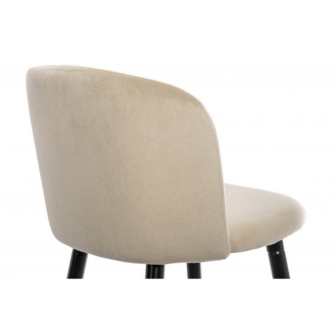 Барный стул Lidor бежевого цвета