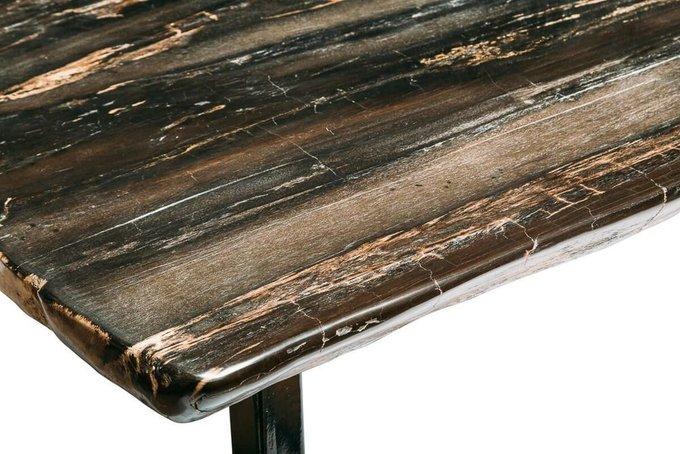 Обеденный стол Бинтау из окаменелого дерева 381125