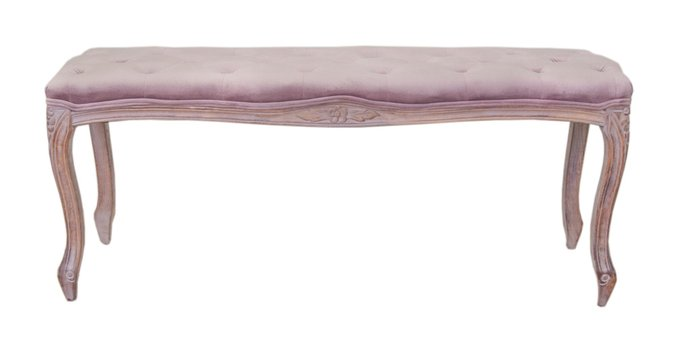 Оттоманка Kina narrow pink розового цвета