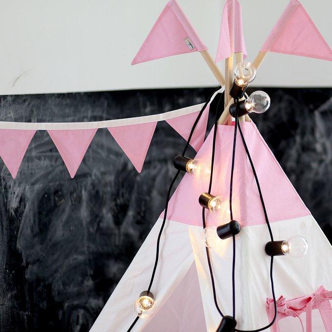 Вигвам для детей Simple Pink из 100% хлопка