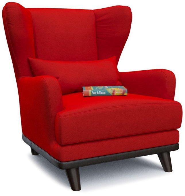 Кресло Роберт Людвиг дизайн 8 красного цвета