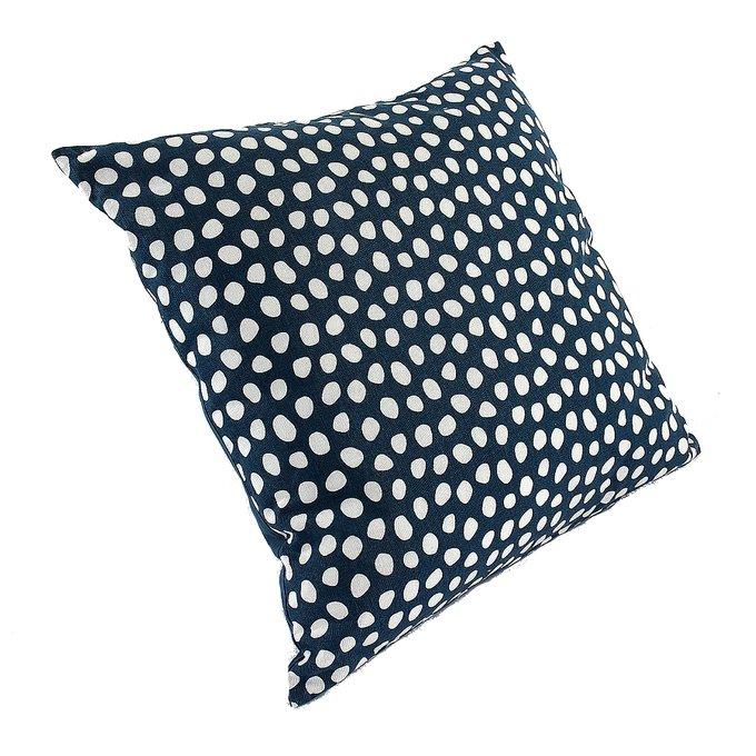 Чехол для подушки Funky dots темно-серого цвета