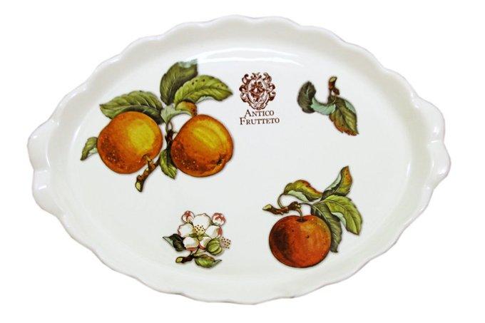 Блюдо овальное Античные фрукты