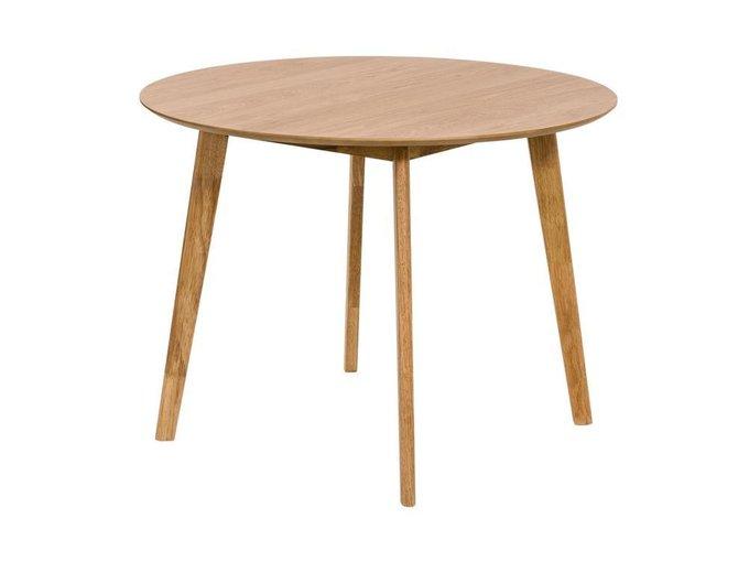 Стол обеденный Cheryn коричневого цвета