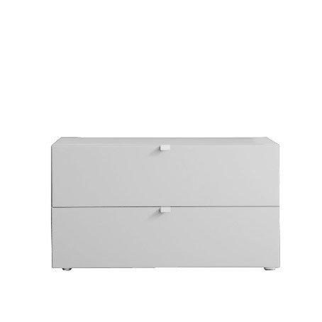 Комод Tetris Bianco белого цвета