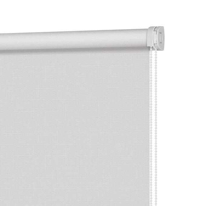 Рулонная штора Миниролл Апилера Снежный серый 50x160