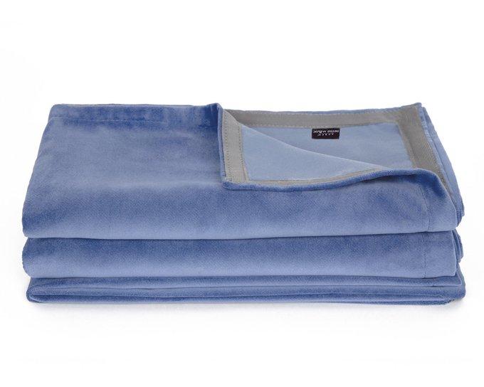 Покрывало Uno Dandy Iris 140х210 синего цвета
