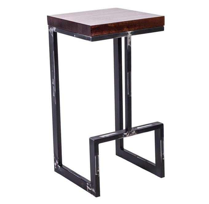 Барный стул Альтрон из дерева и металла