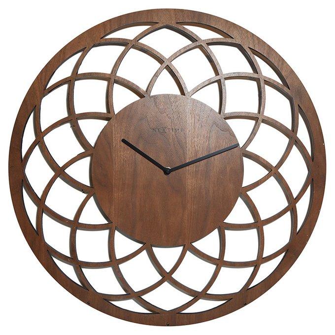 Настенные часы Big Dremcather коричневого цвета