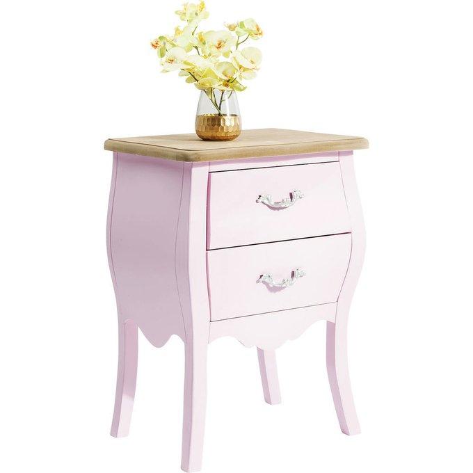 Тумба Romantic розового цвета