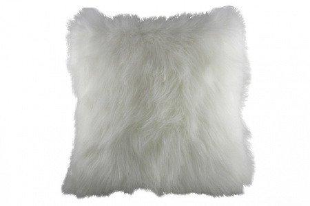 Подушка из искуственного меха White
