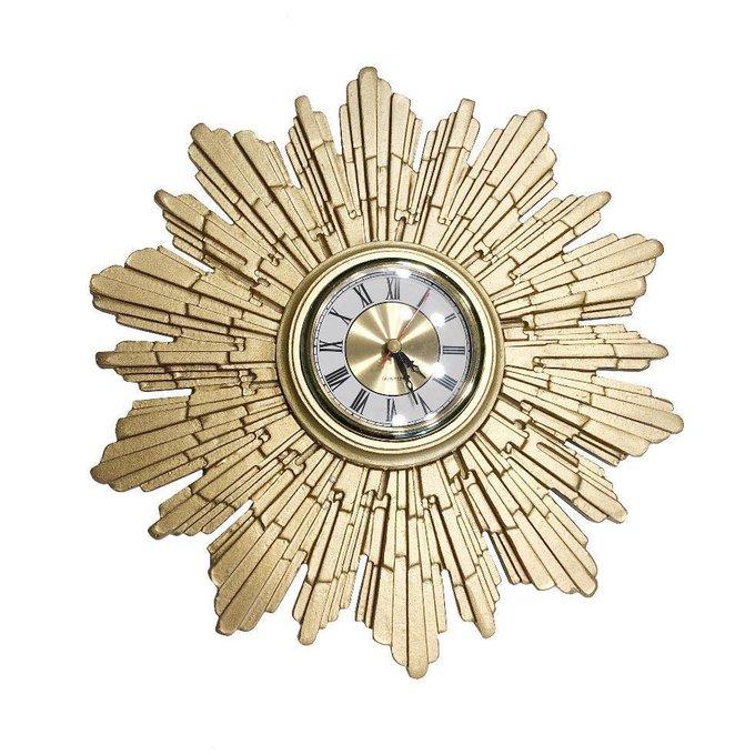 Настенные часы Canaria золотого цвета